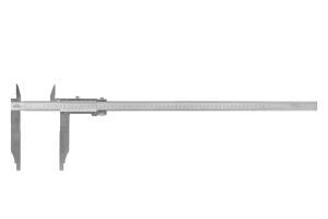 Posuvné měřítko s jemným stavěním KINEX 500mm, 150mm, 0,02mm, s horními noži, ČSN251231, DIN862
