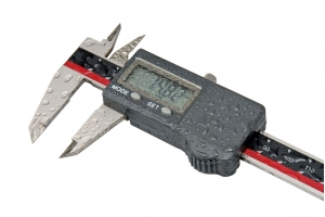 Digitální posuvné měřítko do vlhkého prostředí KINEX ABSOLUTE ZERO 150/40 mm, DIN862, IP67