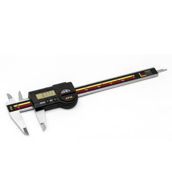 Digitální posuvné měřítko do vlhkého prostředí KINEX ICONIC Labo 200 mm, DIN862, IP67 - TOP QUALITY, PC