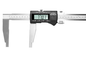 Digitální posuvné měřítko s jemným stavěním KINEX 400 mm, 100 mm, 0,01 mm, DIN862