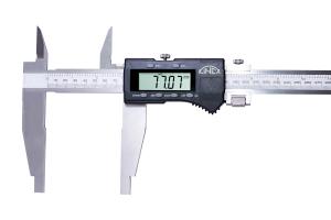 Digitální posuvné měřítko s jemným stavěním KINEX 400 mm, 150 mm, 0,01 mm, DIN862