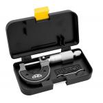 Mikrometr třmenový KINEX 0-25 mm/0,01mm, ČSN251420, DIN863
