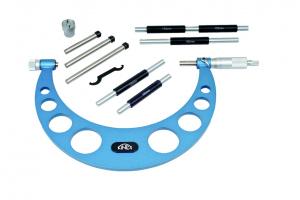Mikrometr třmenový KINEX 100-200mm/0,01mm, ČSN251420, DIN863