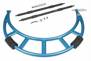 Mikrometr třmenový KINEX 300-400mm/0,01mm, ČSN251420, DIN863