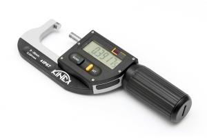Digitální mikrometr třmenový KINEX ICONIC Labo 0-30mm, 0,001mm, DIN863, IP67
