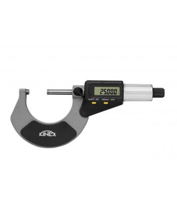 Digitální mikrometr třmenový KINEX 0-25 mm, 0,001mm, DIN863, IP65