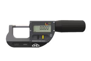 Digitální mikrometr třmenový s Bluetooth KINEX ICONIC Labo, 0-30mm, 0,001mm, DIN863, IP67