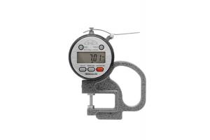 Mikrometrický tloušťkoměr digitální KINEX ABZ 0-10mm, délka ramene 30mm, 0,01mm, DIN863