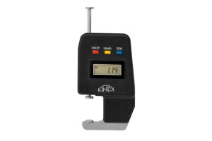 Mikrometrický tloušťkoměr digitální KINEX 0-25mm, 0,01mm, DIN863