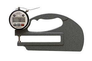 Mikrometrický tloušťkoměr digitální KINEX ABZ 0-10mm, délka ramene 120mm, 0,01mm, DIN863