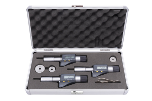 Sada digitálních třídotekových mikrometrů (dutinoměrů) KINEX - 3-6mm, DIN863, IP54