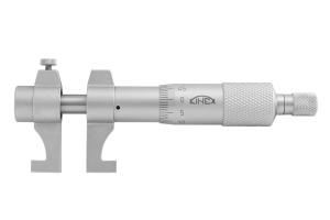 Mikrometr dutinový dvoudotekový (dutinoměr) KINEX 25-50mm, 0.01mm, ČSN251430, DIN863