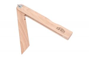 Úhloměr dřevěný 250mm/30°,45°,60°,90°