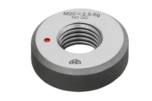 Kroužek mezní závitový KINEX M2(0,4)-6g zmetkový, DIN13