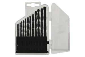 Sada vrtáků 13 dílná 1,50-6,50x0,5mm+3,30+4,20 RNHSS pasivovaná, plastový box (SV1121RNHSS-13P)