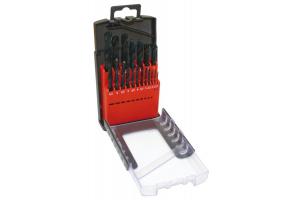 Sada vrtáků 19 dílná 1,00-10,00x0,5mm RNHSS pasivovaná, plastový box (SV1121RNHSS-19P)