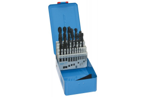 Sada vrtáků 25 dílná 1,00-13,00x0,5mm RNHSS pasivovaná, kovový box (SV1121RNHSS-25K)