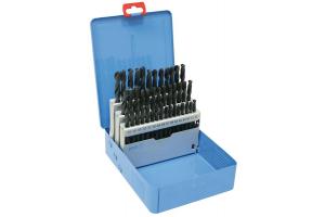 Sada vrtáků 41 dílná 6,00-10,00x0,1mm RNHSS pasivovaná, kovový box (SV1121RNHSS-41K)