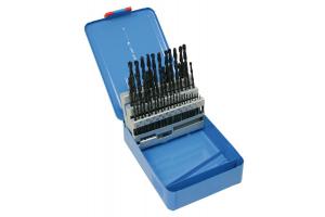 Sada vrtáků 50 dílná 1,00-5,90x0,1mm RNHSS pasivovaná, kovový box (SV1121RNHSS-50K)