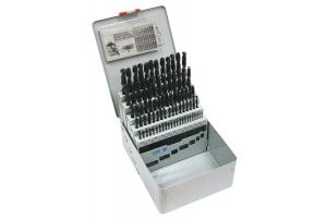 Sada vrtáků 91 dílná 1,00-10,00x0,1mm RNHSS pasivovaná, kovový box (SV1121RNHSS-91K)