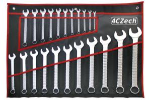 Sada klíčů 22dílná, DIN 3113 ve vinylovém pouzdře (6 -32mm) (4CZ-277-522)