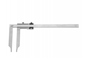Posuvné měřítko s dlouhými meřícími čelistmi 300/150mm, 0,05mm (0237204)
