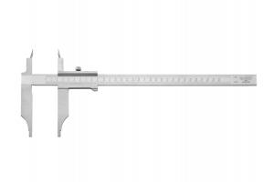 Posuvné měřítko 300mm se smrštěním 1,0%  - 1,5% - 2,0%, chromované, nerezová ocel (0250511)