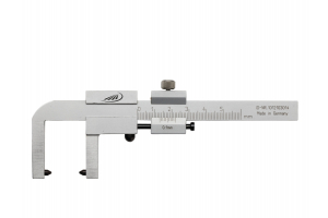 Posuvné měřítko pro kontrolu brzdových kotoučů motockyklů 0-50mm, 0,05 (0253300)