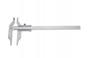 Posuvné měřítko s vnitřním měřením, bez hloubkoměru 0 - 250mm, 80mm, aretace šroubkem (026552005)