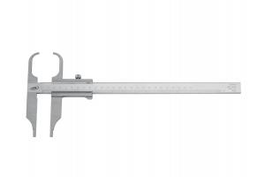 Posuvné měřítko s obkročnými čelistmi, bez hloubkoměru 0 - 250mm, 75mm, aretace šroubkem (026652005)