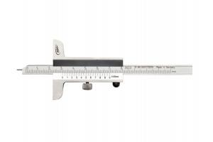 Hloubkoměr univerzální oboustranný 80mm, chromovaný posuv, nerezová ocel, 0,05mm, DIN862 (0280501)