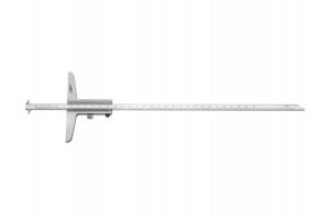 Hloubkoměr pro měření roztečí vnitřních drážek 0-200mm (0292501)