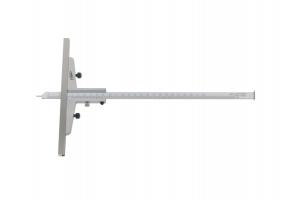 Hloubkoměr nerezový se základnou 0-250mm, 0,02 (0294504)