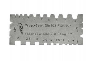 Šablona pro závity univerzální, 90x40x2mm (0580121)