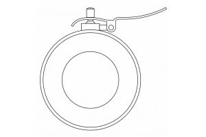 Zdvihací páka vřetena pro průměr 40mm (0710104)