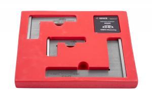 Sada příložných DIN úhelníků KINEX - tř.př.1 (4034-12-007, 4034-12-010, 4034-12-015), DIN875