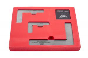 Sada plochých DIN úhelníků KINEX - tř.př.1 (4033-12-007, 4033-12-010, 4033-12-015), DIN875