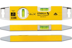 STABILA 02199 - Vodováha 25cm 2x libela, TORPEDO , Typ 70 T