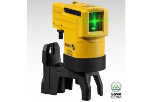 STABILA 19110 - Laser liniový, křížový samonivelační LAX50 G green, zelený paprsek přesnost ±0,5